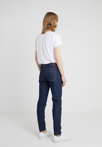 Filippa K - BYRON RAW - Jean droit - dark blue - 2