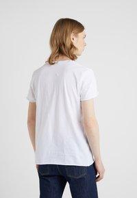 Filippa K - ROLL NECK TEE - T-shirt basique - white - 2