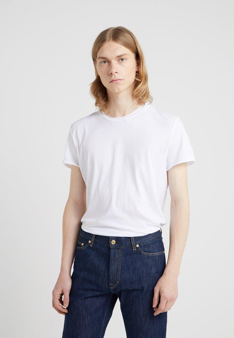 Filippa K - ROLL NECK TEE - T-shirt basique - white