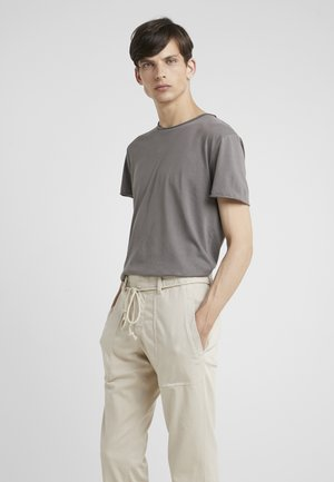 ROLL NECK TEE - T-shirt - bas - gull grey