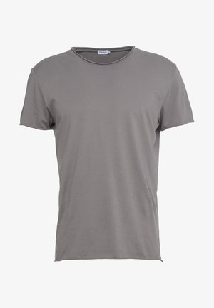 ROLL NECK TEE - T-paita - gull grey