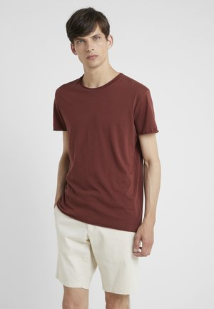 ROLL NECK TEE - T-shirt basique - red