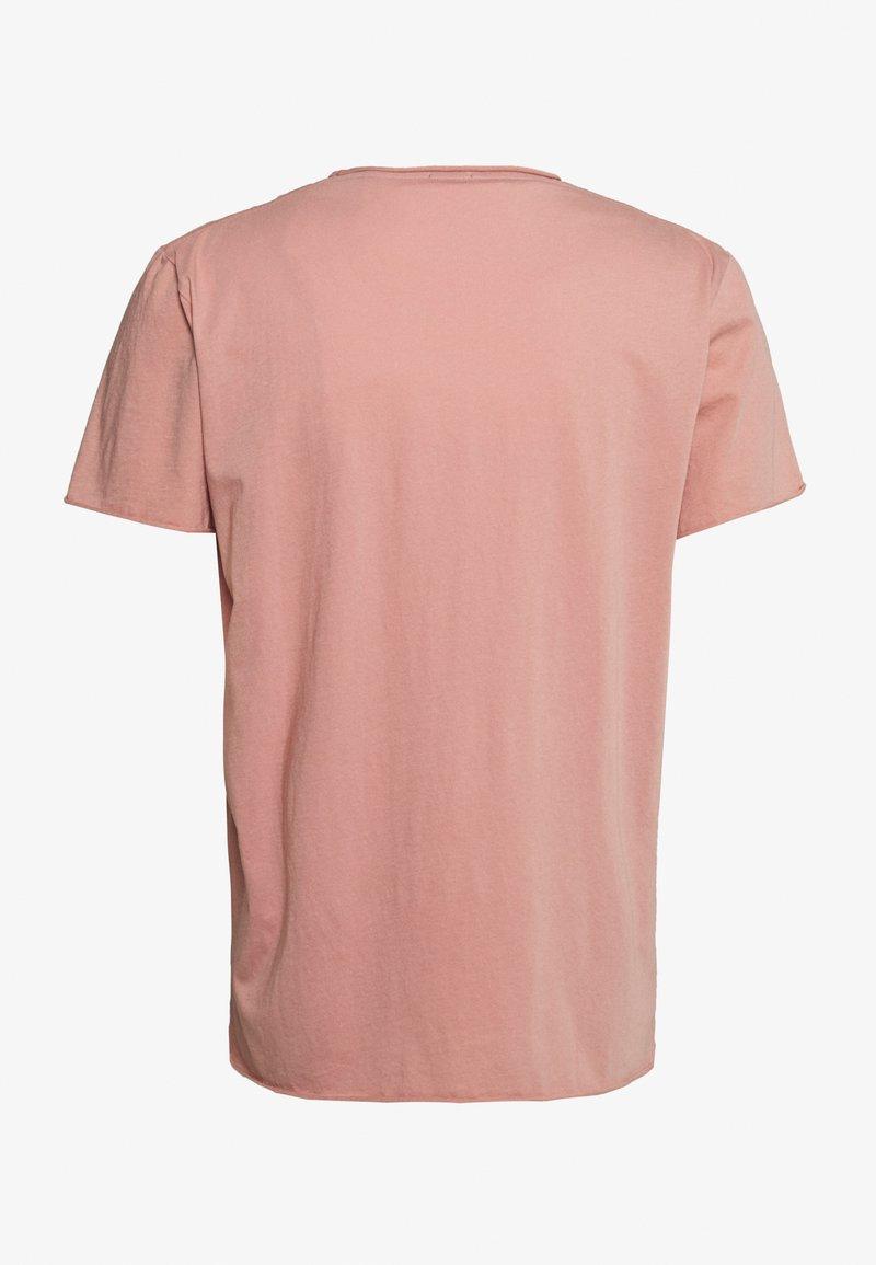 Filippa K ROLLNECK - T-shirt basic - antique rose oah1kW fashion style