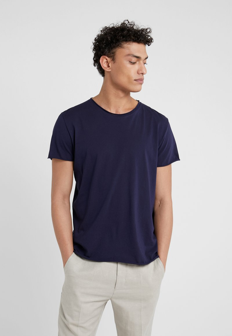 Filippa K - ROLL NECK TEE - T-shirts - deepwater
