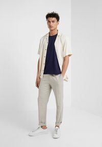 Filippa K - ROLL NECK TEE - T-shirts - deepwater - 1