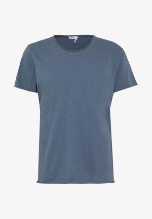 ROLL NECK TEE - Basic T-shirt - blue grey
