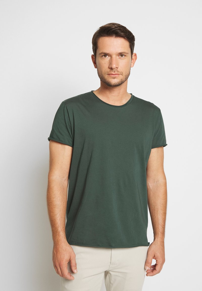 Filippa K - ROLL NECK TEE - T-shirt - bas - crocodile