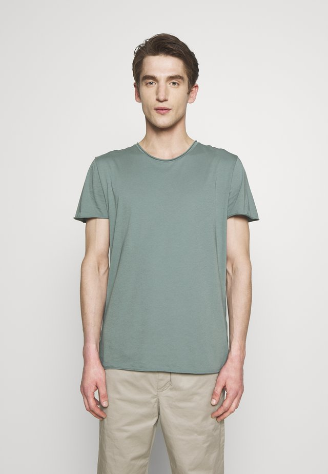 ROLL NECK TEE - T-shirt - bas - mint powder