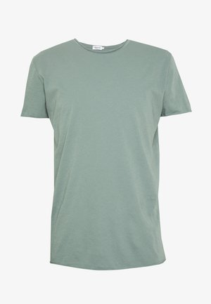 ROLL NECK TEE - Camiseta básica - mint powder