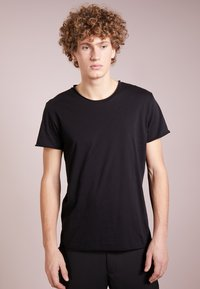 Filippa K - ROLLNECK - T-shirts basic - black - 0