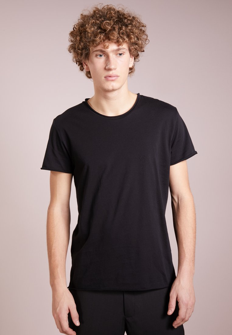 Filippa K - ROLL NECK TEE - T-shirt basic - black
