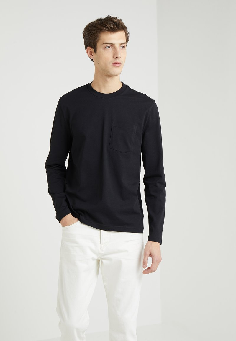 Filippa K - HEAVY SINGLE - Langarmshirt - black
