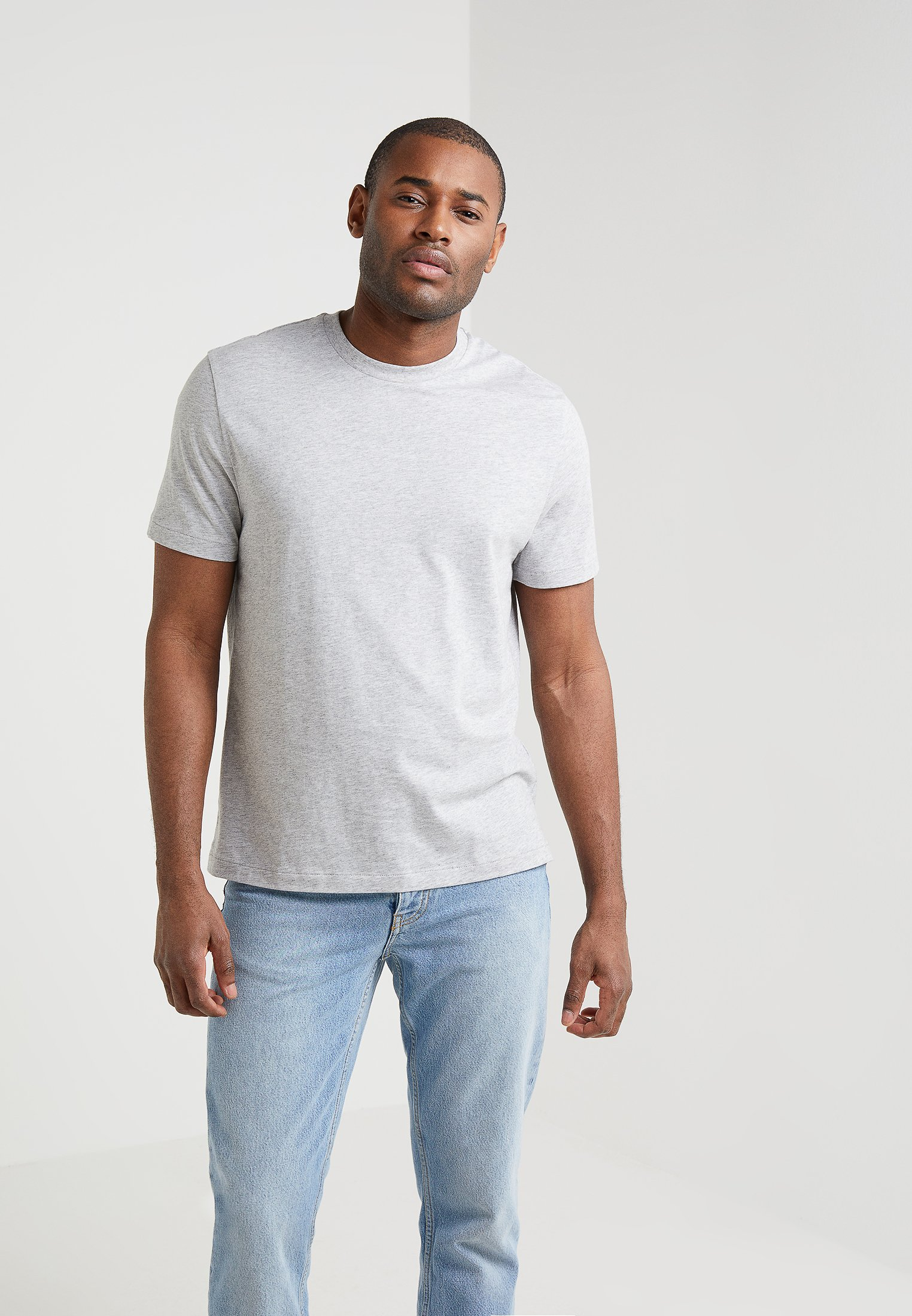 Grey Single Filippa K Light Classic TeeT shirt Basic NOPkXn80w