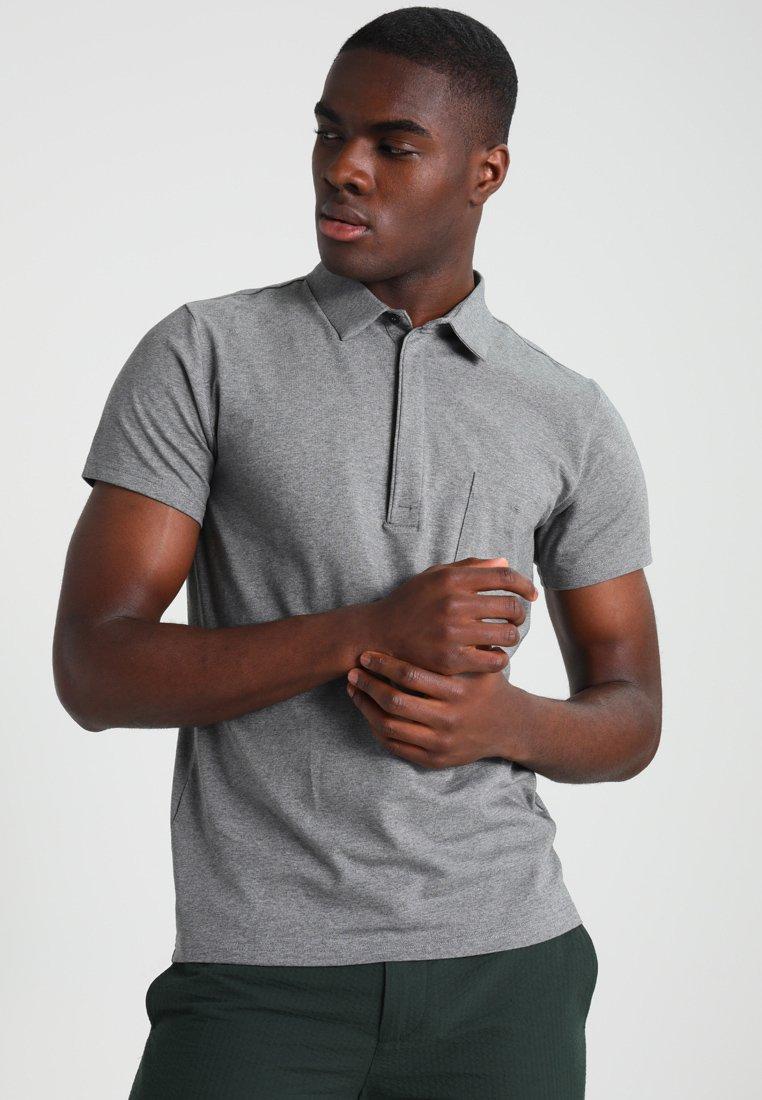 Filippa K - Poloshirt - grey melange