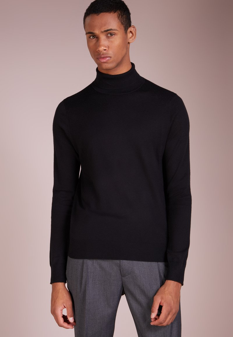 Filippa K - MIX ROLLERNECK  - Stickad tröja - black