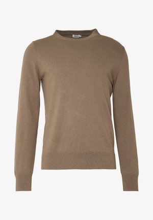 Sweter - grey taupe