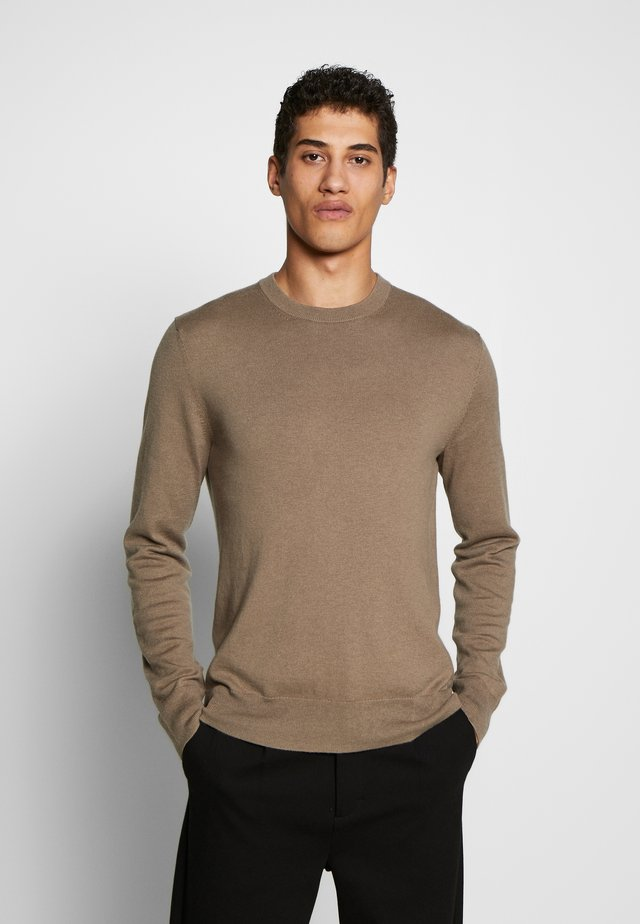 Strickpullover - grey taupe
