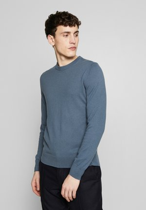 Strickpullover - blue grey