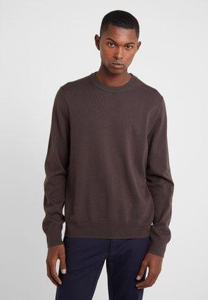 Sweter - dark mole