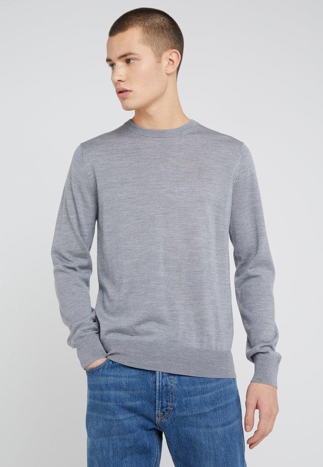 Strikpullover /Striktrøjer - grey melange