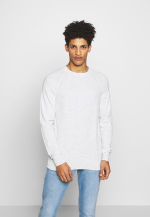 HENRIC SWEATER - Strikkegenser - sterling grey
