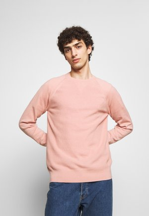 HENRIC SWEATER - Strikkegenser - antique rose