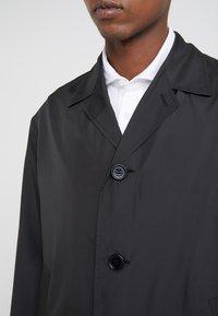 Filippa K - LUCIEN FRONT RUNNER COAT - Zimní kabát - black - 6