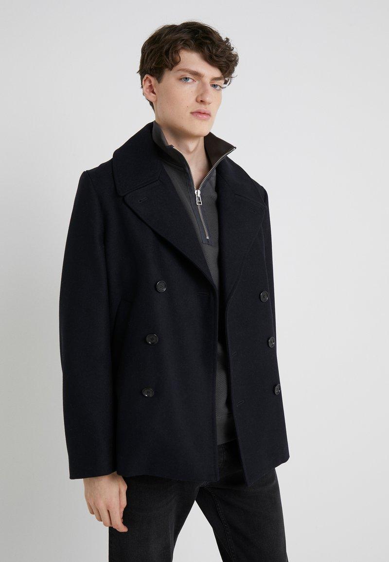 Filippa K - HAGUE PEA COAT - Lett jakke - blue/black