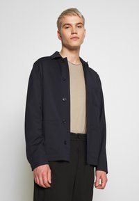Filippa K - LOUIS GARBADINE JACKET - Summer jacket - navy - 3