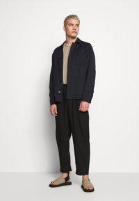 Filippa K - LOUIS GARBADINE JACKET - Summer jacket - navy - 1