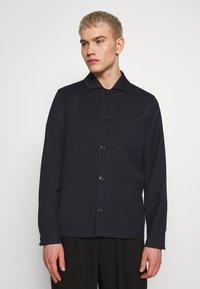 Filippa K - LOUIS GARBADINE JACKET - Summer jacket - navy - 0