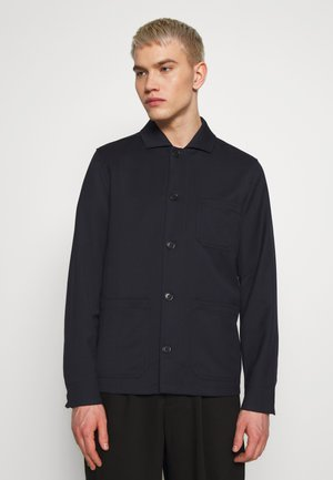 LOUIS GARBADINE JACKET - Lett jakke - navy