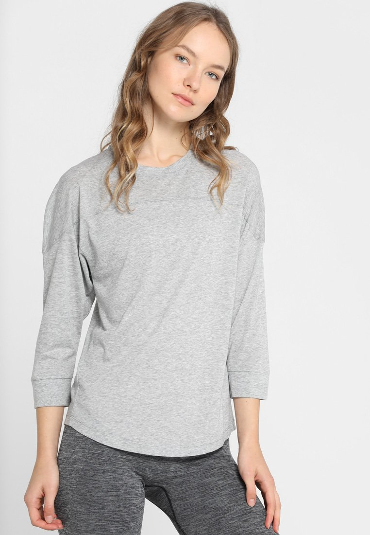 Filippa K - LAYER - Long sleeved top - grey melange