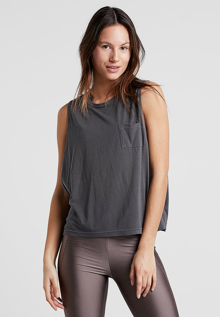 Filippa K - LAYER TANK - Top - black pearl