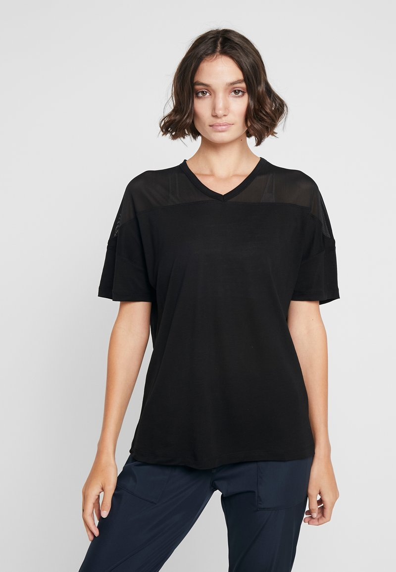 Filippa K - TEE - T-shirt - bas - black