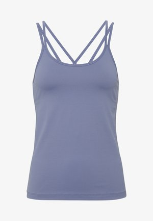 CROSS BACK YOGA - Toppe - fog blue
