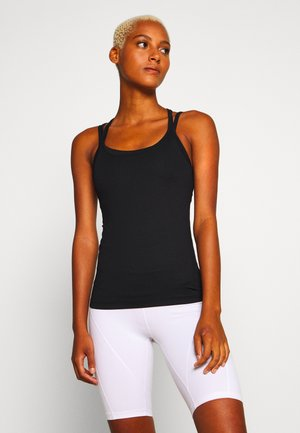 CROSS BACK YOGA - Topper - black