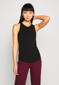 Filippa K - RACER TANK - Topper - black - 0