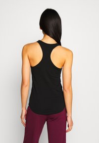 Filippa K - RACER TANK - Topper - black - 2