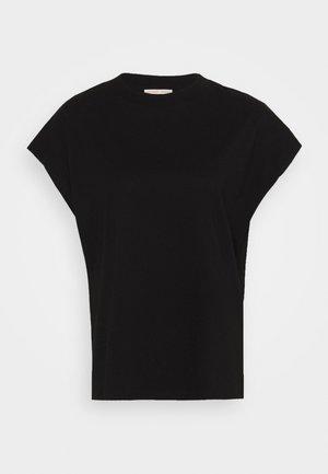 CREW NECK  - T-shirt - bas - black