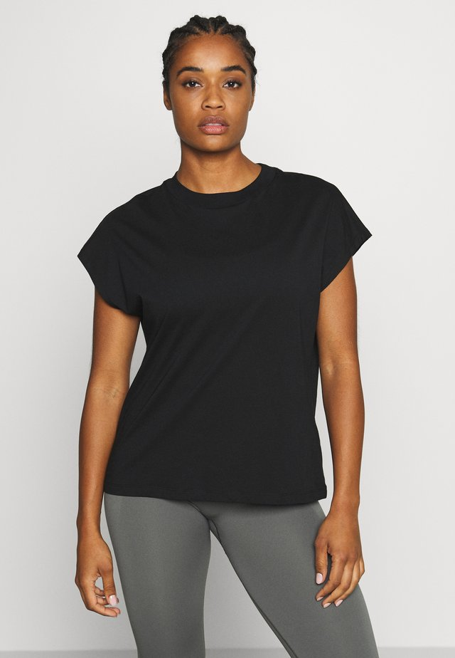 CREW NECK  - Basic T-shirt - black