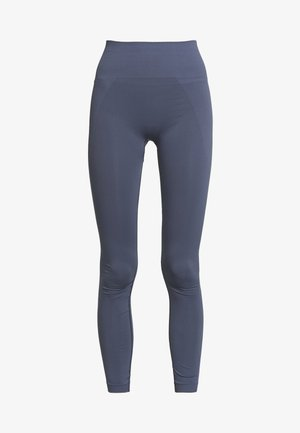 HIGH SEAMLESS LEGGINGS - Collants - misty blue