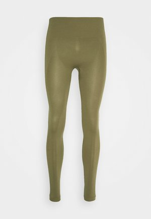 HIGH SEAMLESS LEGGING - Collants - mud