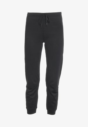 SHINY TRACK PANTS - Verryttelyhousut - black