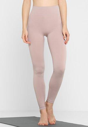 TONE SEAMLESS LEGGINGS - Legging - frosty pink/pluster