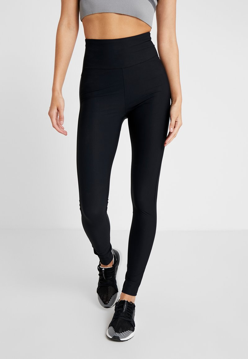 Filippa K - COMPRESSION ZIP - Legging - black