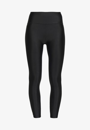 CROPPED GLOSS LEGGING - Legging - black