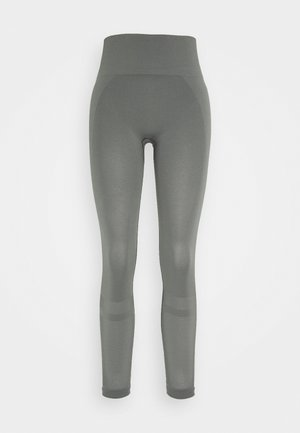 LEGGINGS - Legging - green/grey