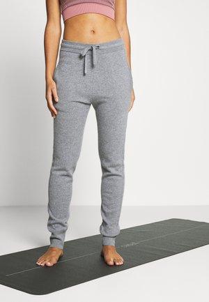 TRACK PANT - Jogginghose - grey melange
