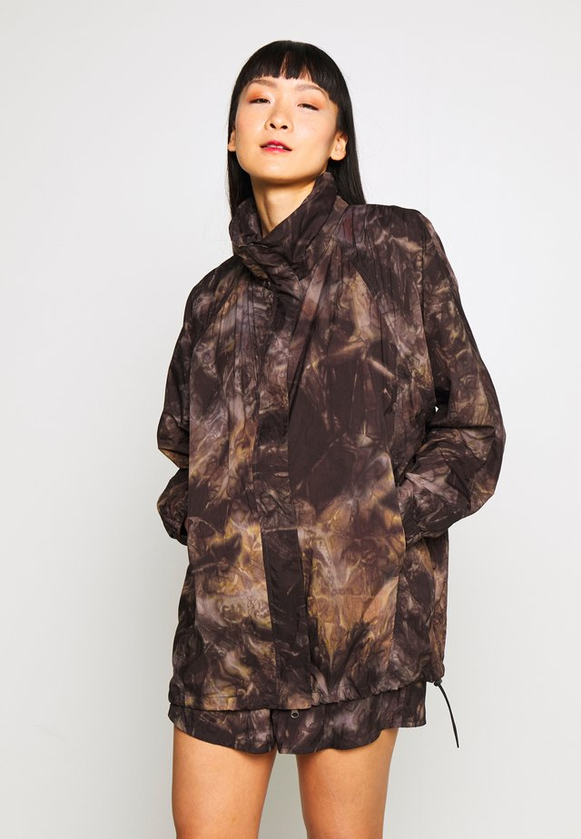 RAVEN TIEDYE JACKET - Training jacket - multi coloured/black/taupe